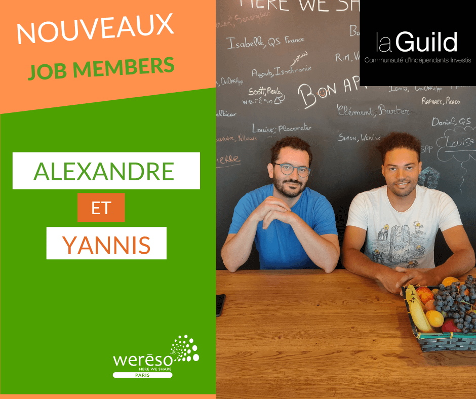 Interview coworkers startup la Guild